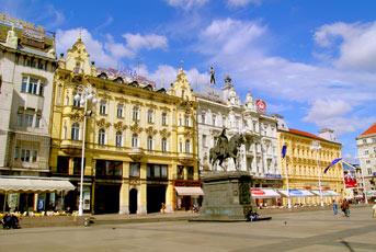 lavni trg grada Zagreba, Trg Bana Jelačića