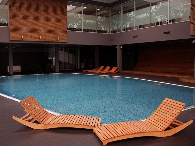 Wellness oaza s bazenom